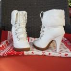 Faux Fur Ankle Boots 'Brigitte'
